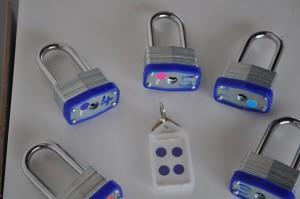 A mathematical activity using padlocks