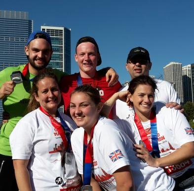 Meadow View Day Nursery Complete Chicago Marathon For Charity